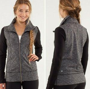 Lululemon Daily Yoga Jacket Coco Pique Black